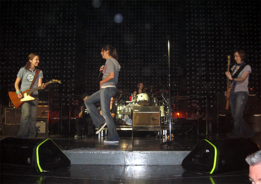 Staples Center, Los Angeles - November 2005