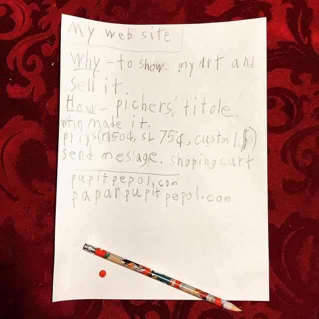 Cole's business plan