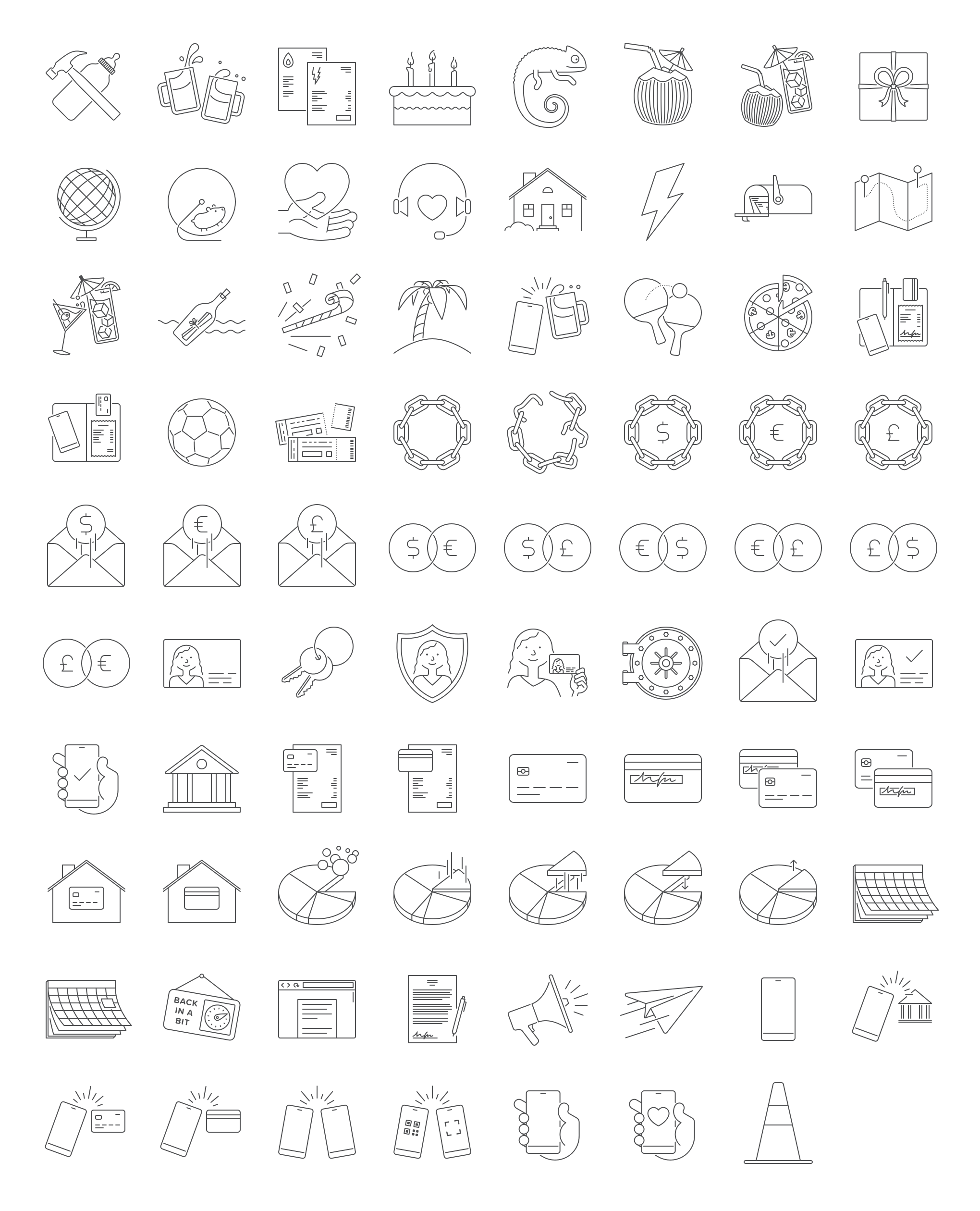 Illustrated icons - full linear set.png