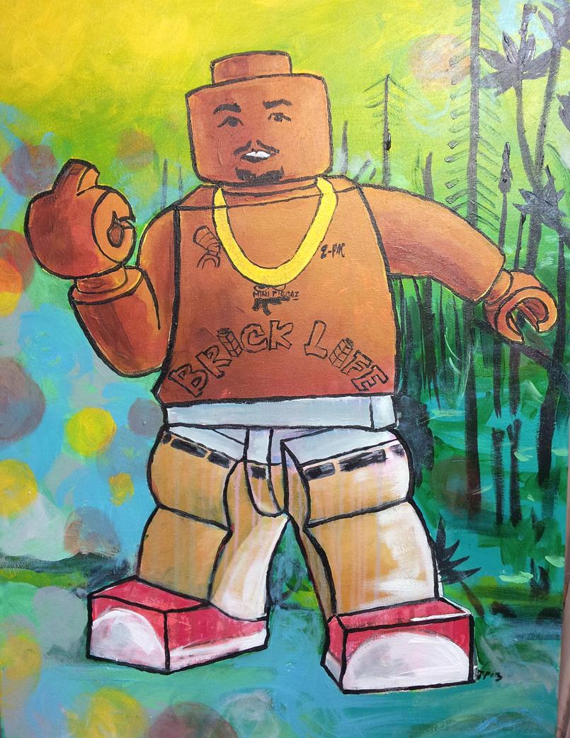 Joshua Peters Brick Live 2009 Acrylic on Canvas 25 x 33.5%22 $580.jpg