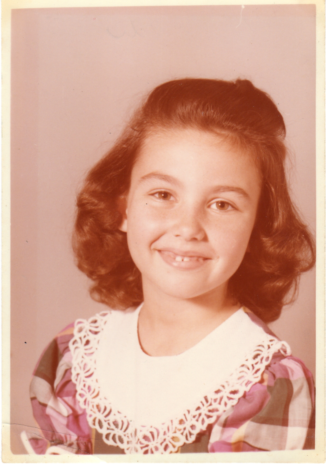 6 years old Beth. Mother made my dress.