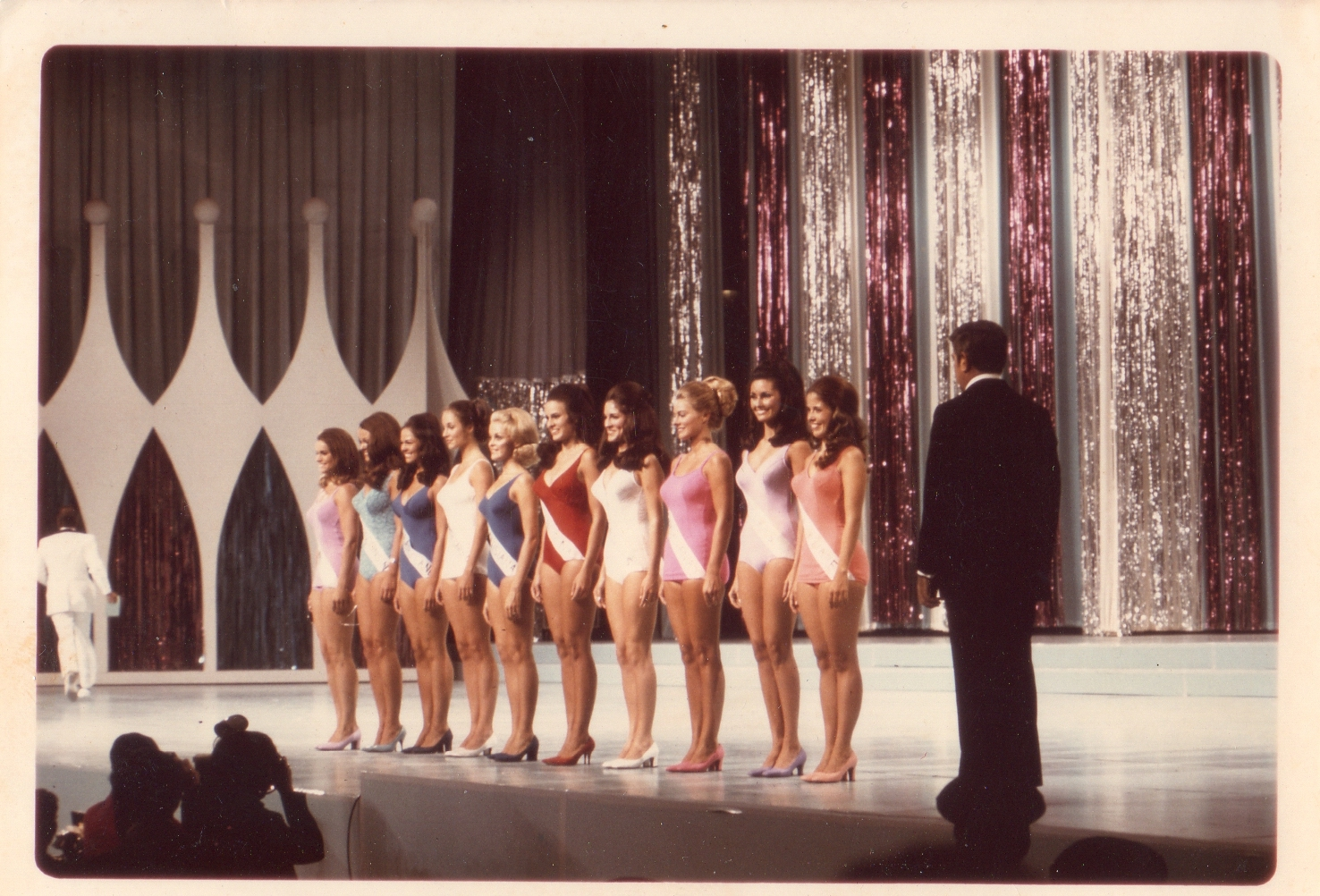 Burt Parks last year as Emcee at the Miss America Pageant