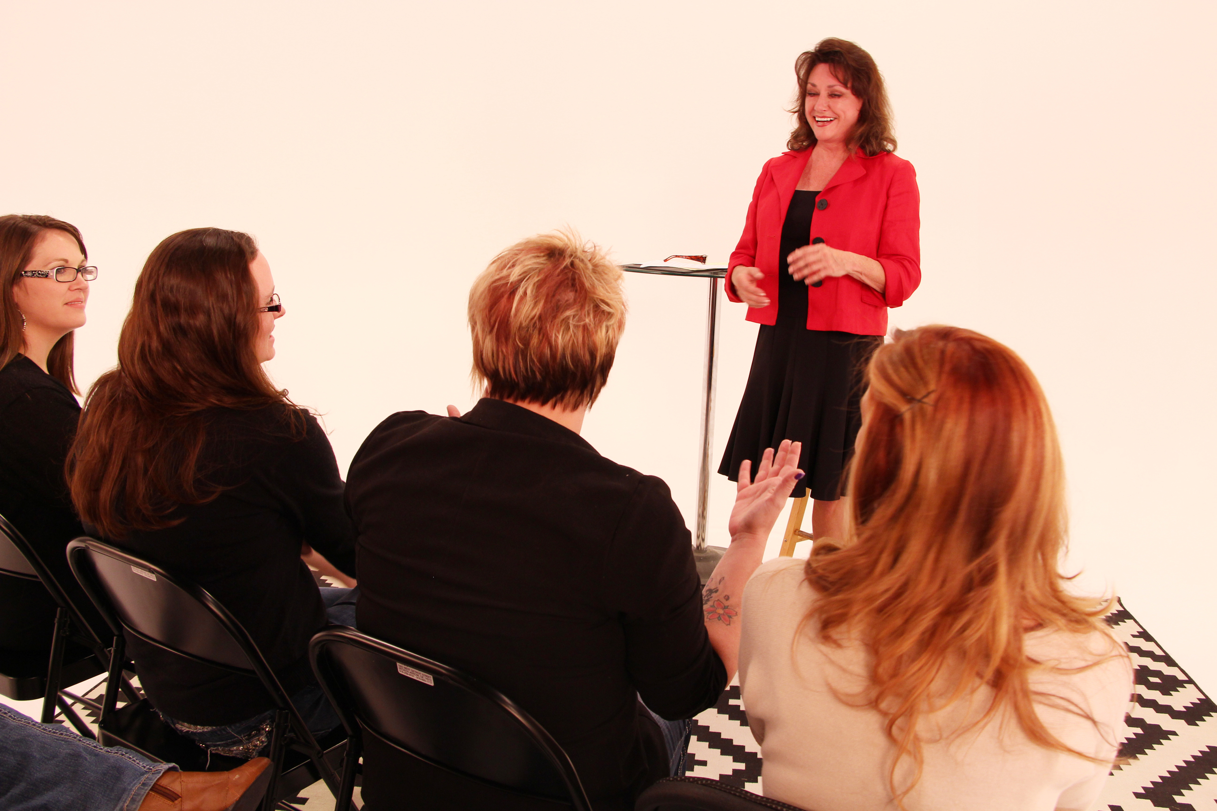 Speaking to young women