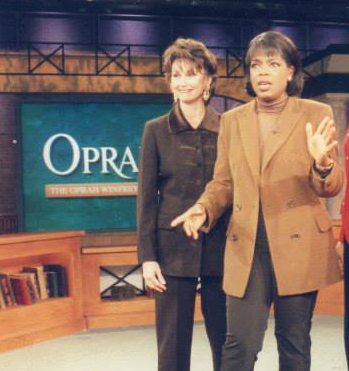 On Set with Oprah!