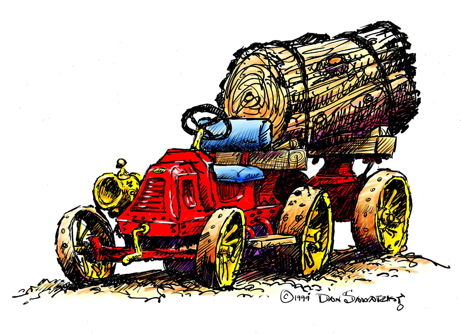 Giggle Ridge Logging Truck