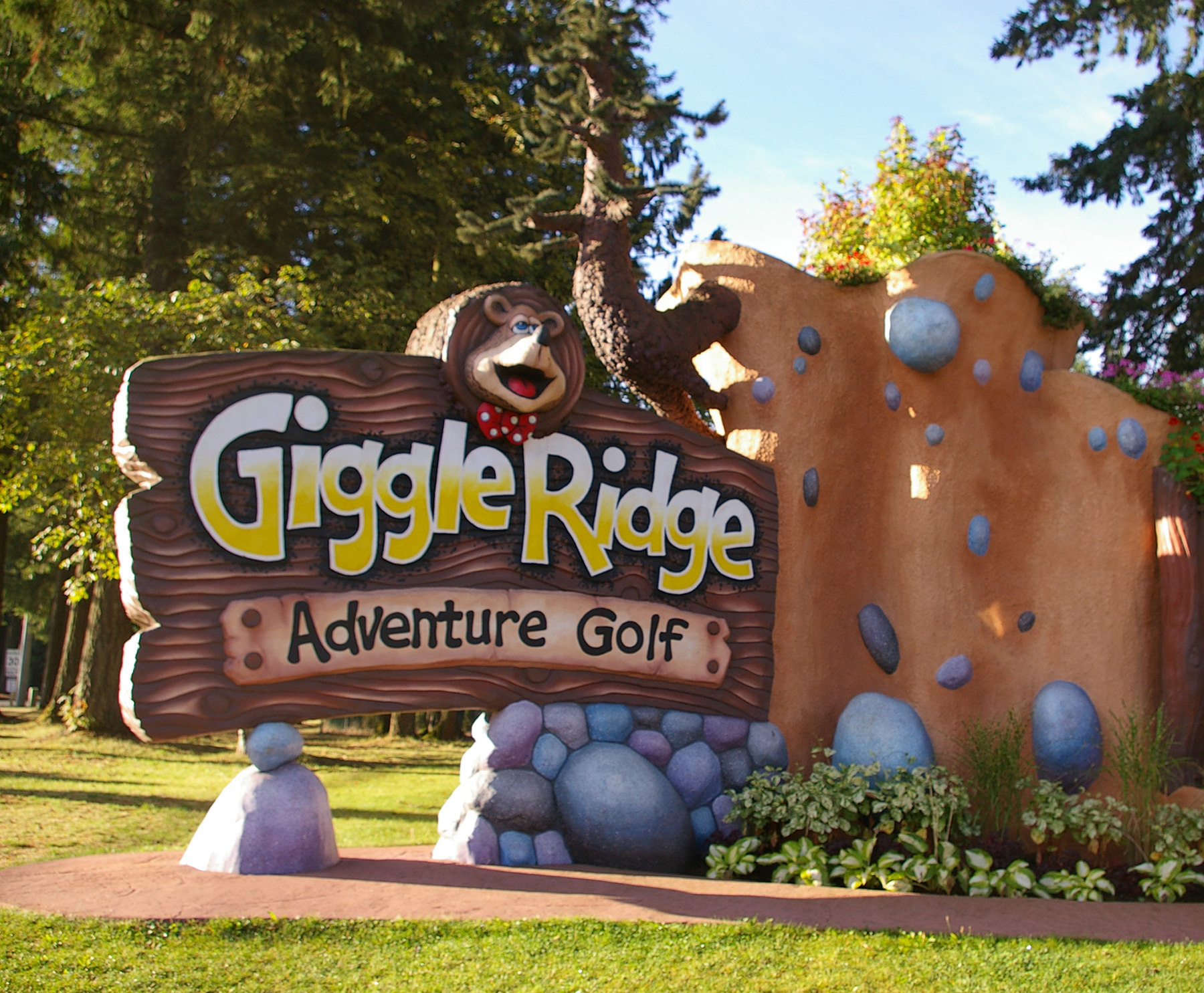 Giggle Ridge Main Sign