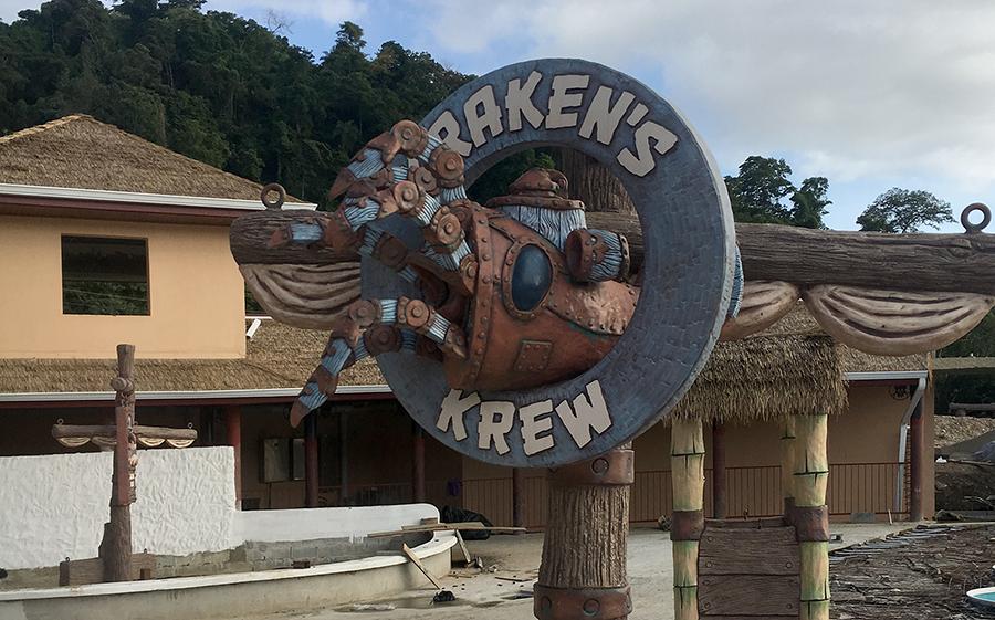 kraken sign installed.png