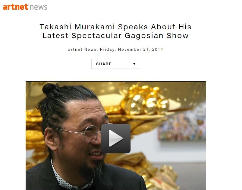 Takashi Murakami Speaks About His Latest Spectacular Gagosian Show