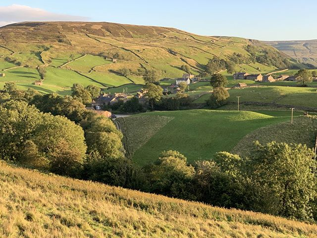 #Keld at the end of another glorious day. #Swaledale #YorkshireDales