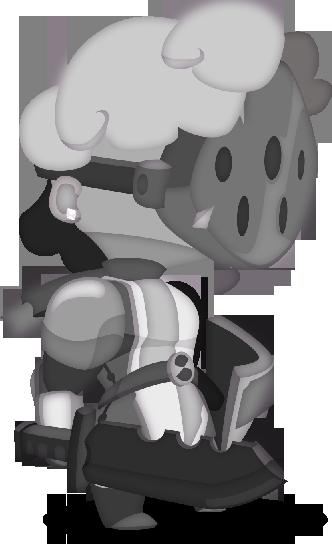 Medieval Knight with some modern accessories tweak.