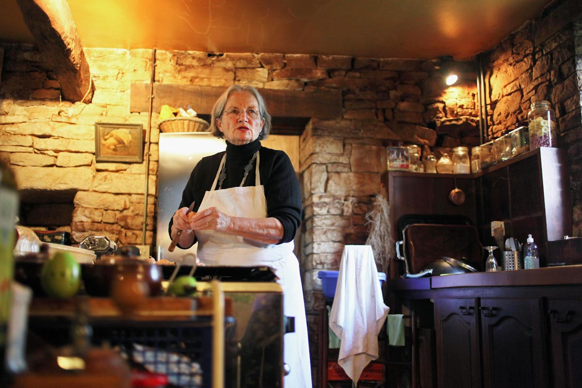 DANIELLE DELPEUCH, FRANCOIS MITERRAND'S CHEF, Story for  The New York Times