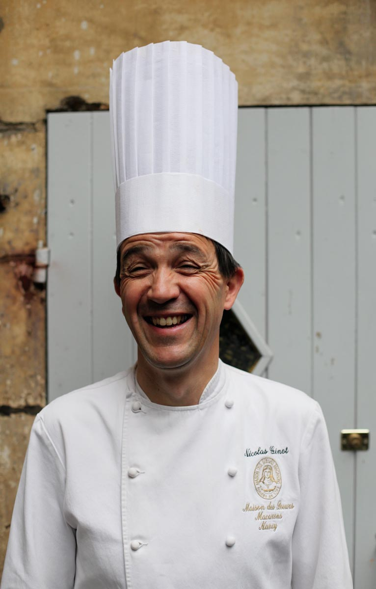 Pastry Chef Nicolas Génot, Nancy