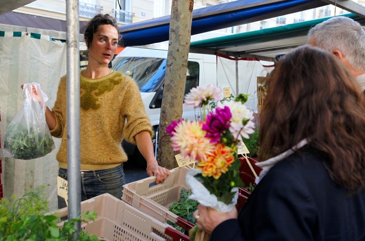Celeste Pelissier, Raspail Food Market, Paris