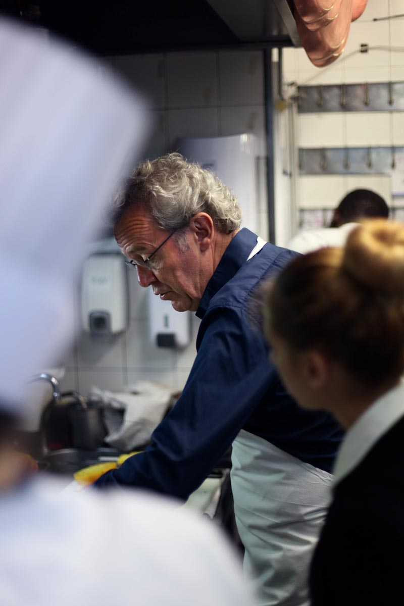Chef Alain Passard, L'Arp  ège, Paris