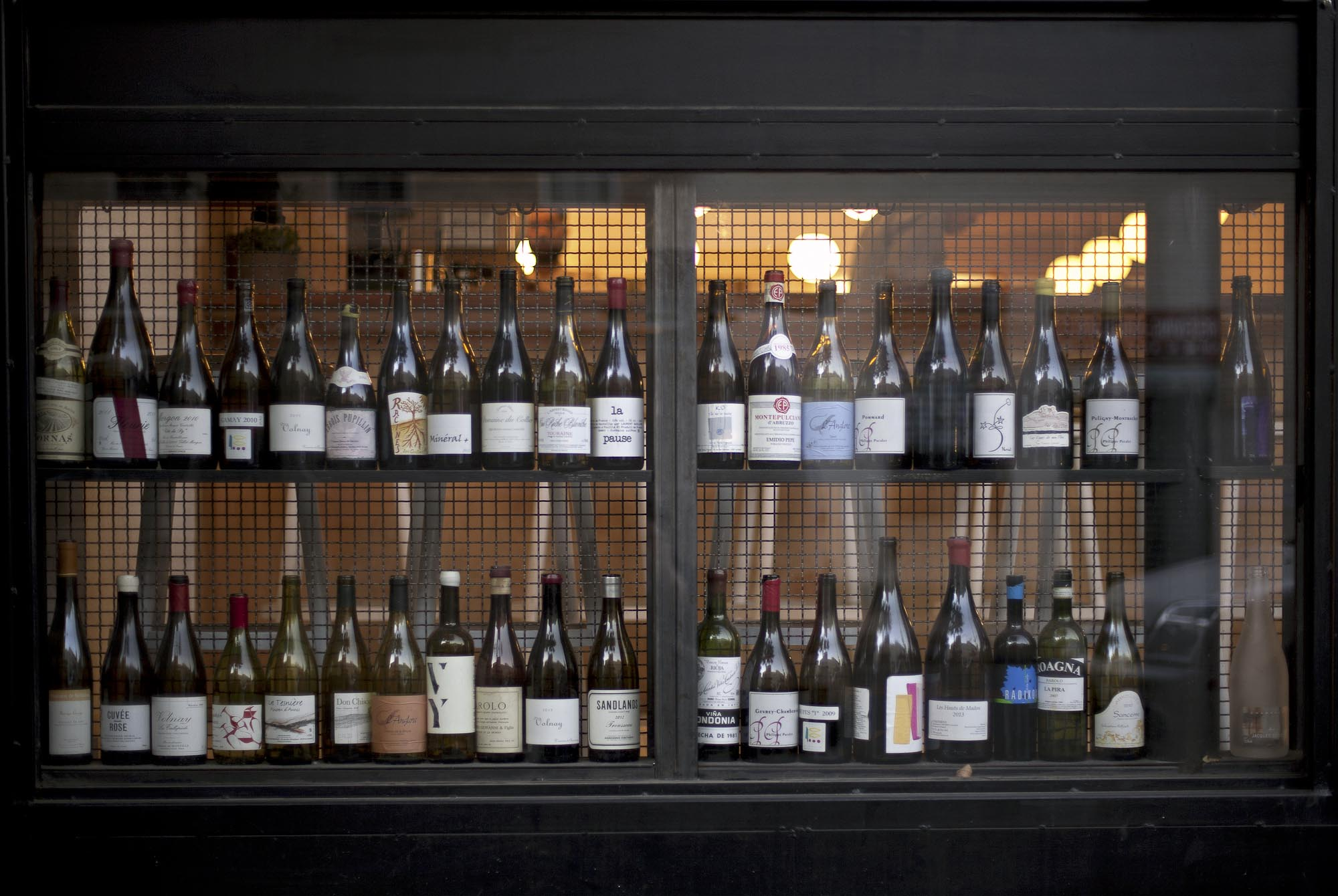 THE FOUR HORSEMEN: Natural  Wine Bar & Restaurant , Brooklyn, NY.