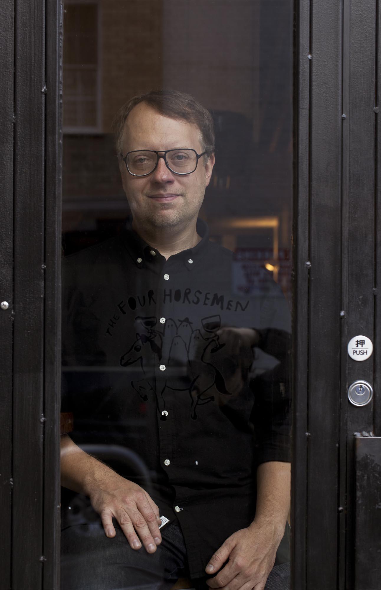 Justin Chearno, Wine Consultant.