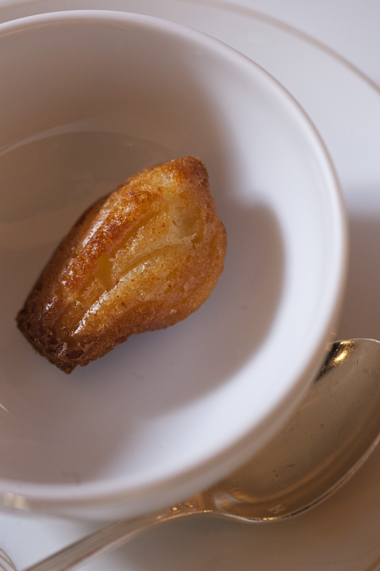 The 'Madeleine', served in the Marcel Proust Tea Room For  Bon Appetit