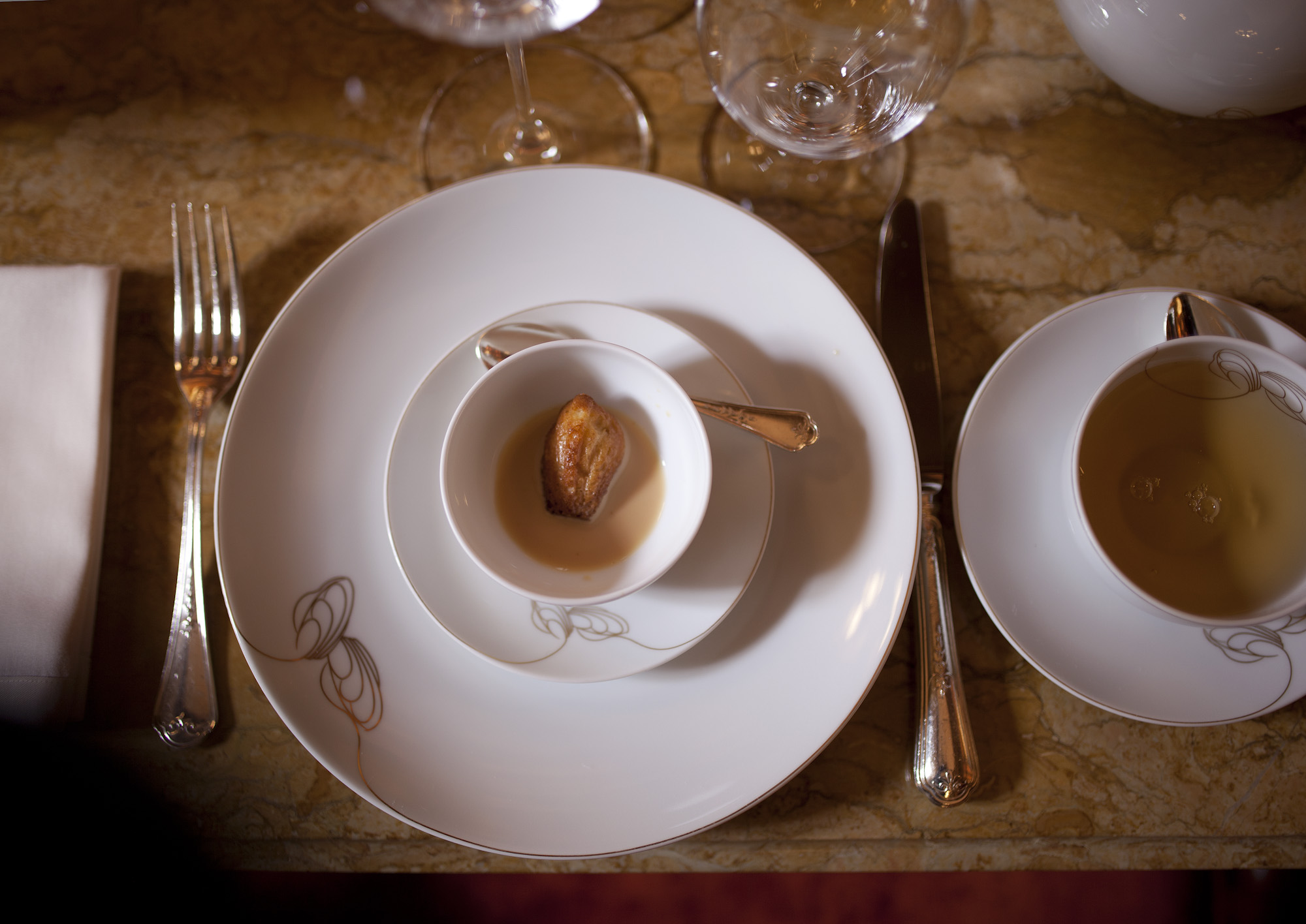 LE RITZ, PARIS: The 'Madeleine', served in the Marcel Proust Tea Room For  Bon Appetit .