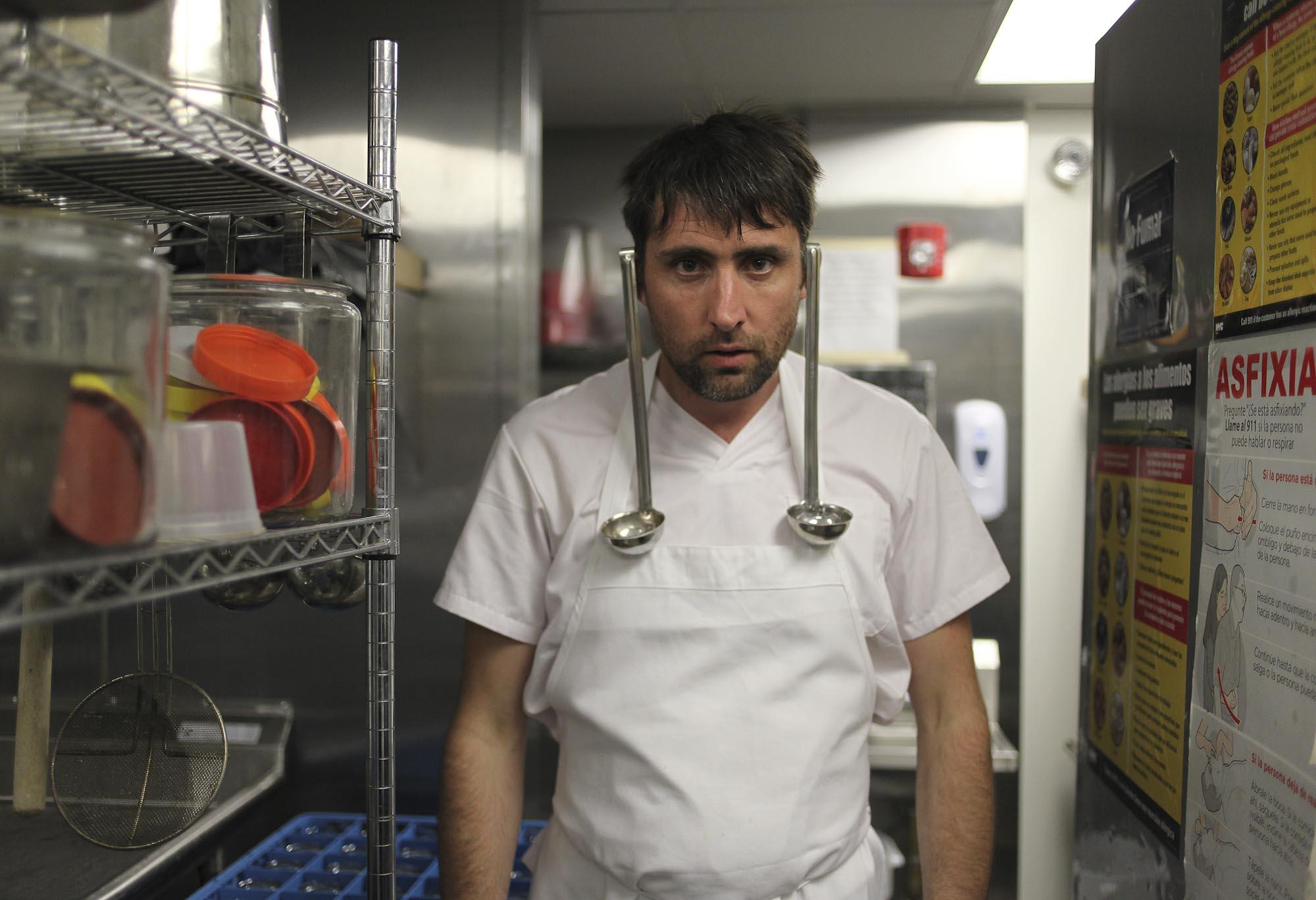 Inaki Aizpitarte, Le Fooding's 'Brooklyn Fling', 2012.