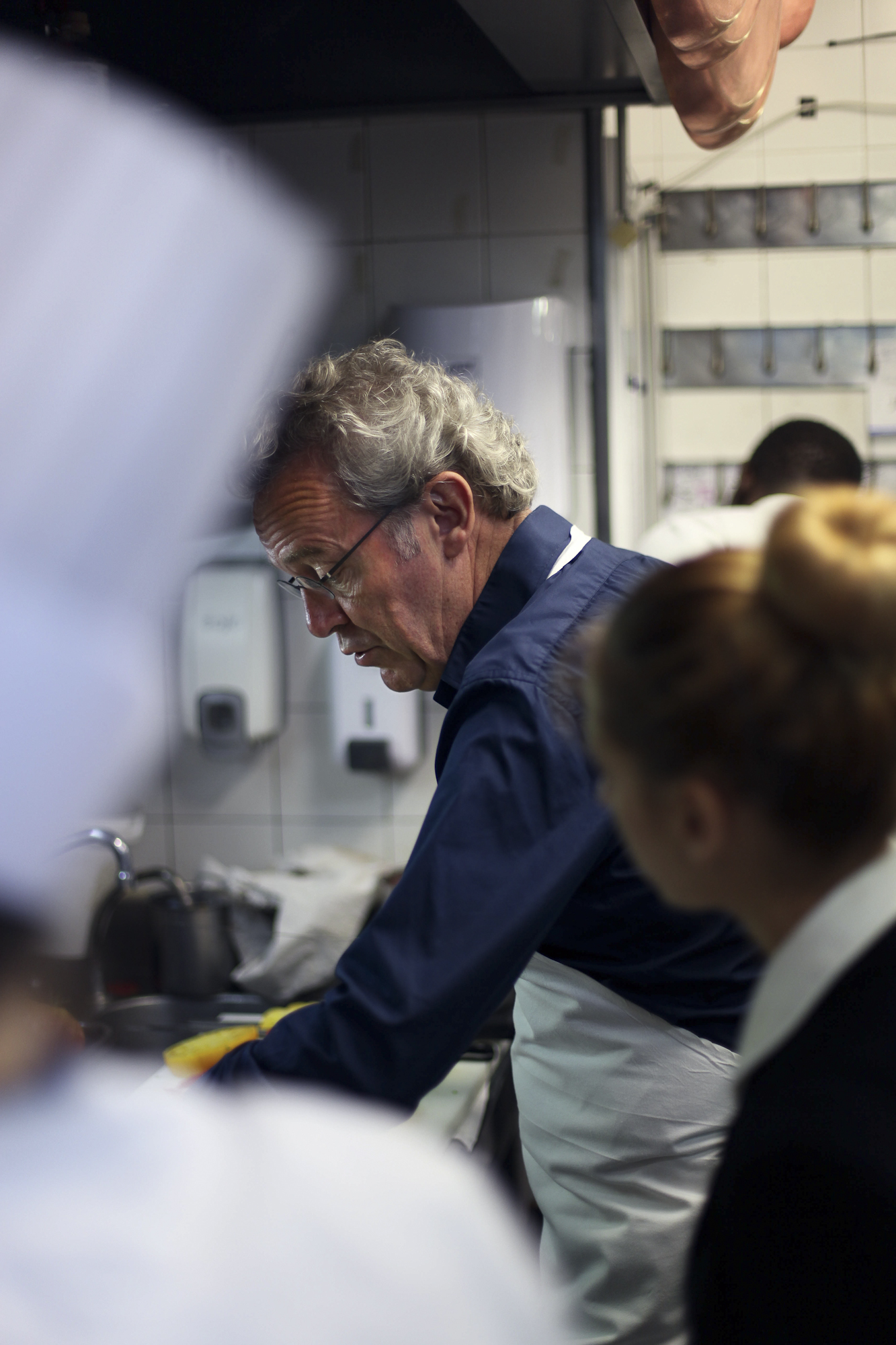 L'Arpege in Paris, Chef Alain Passard