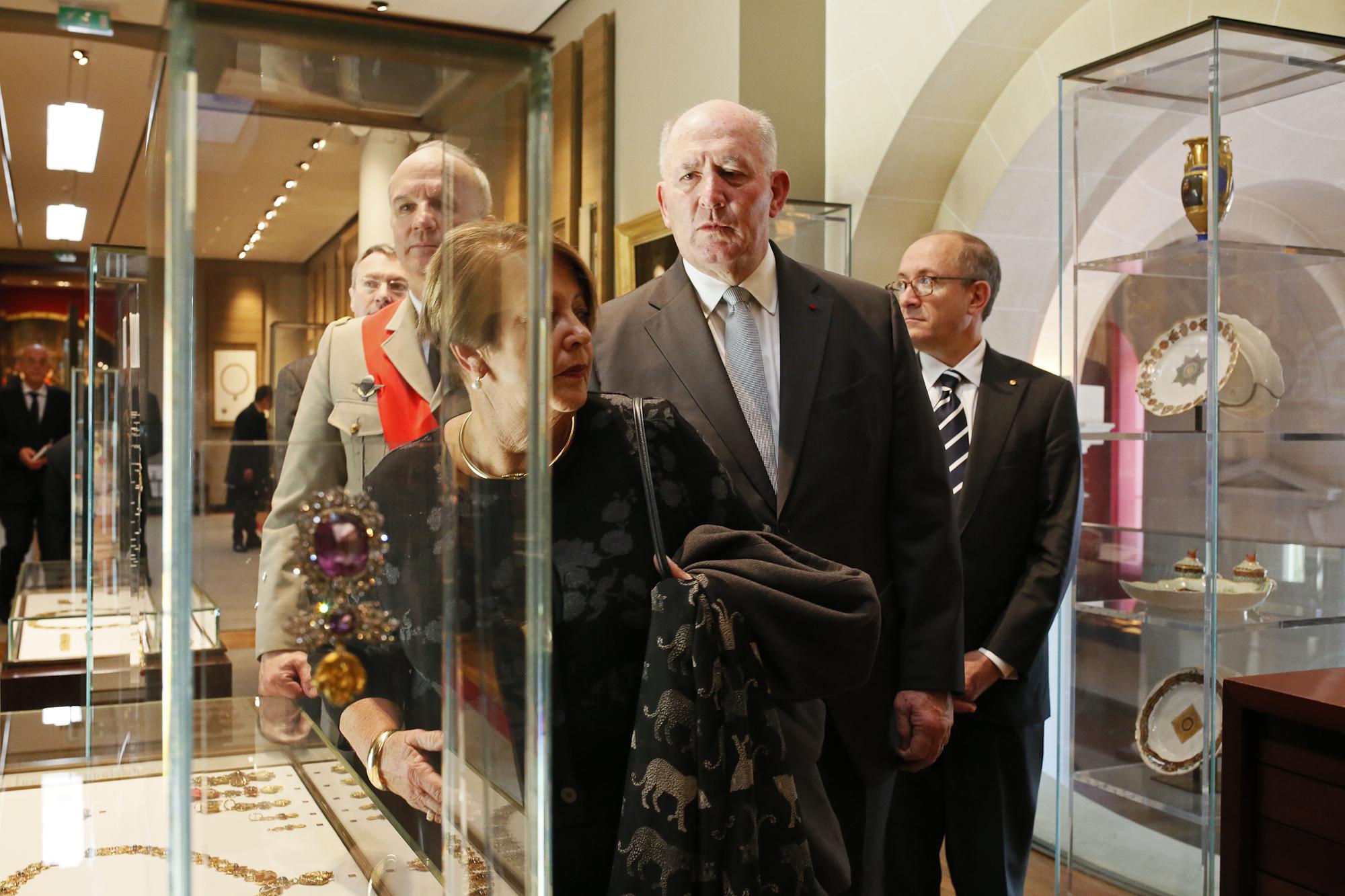 Visit Of The 'Legion d'Honneur' (Highest French Civil Decoration) Museum, Paris