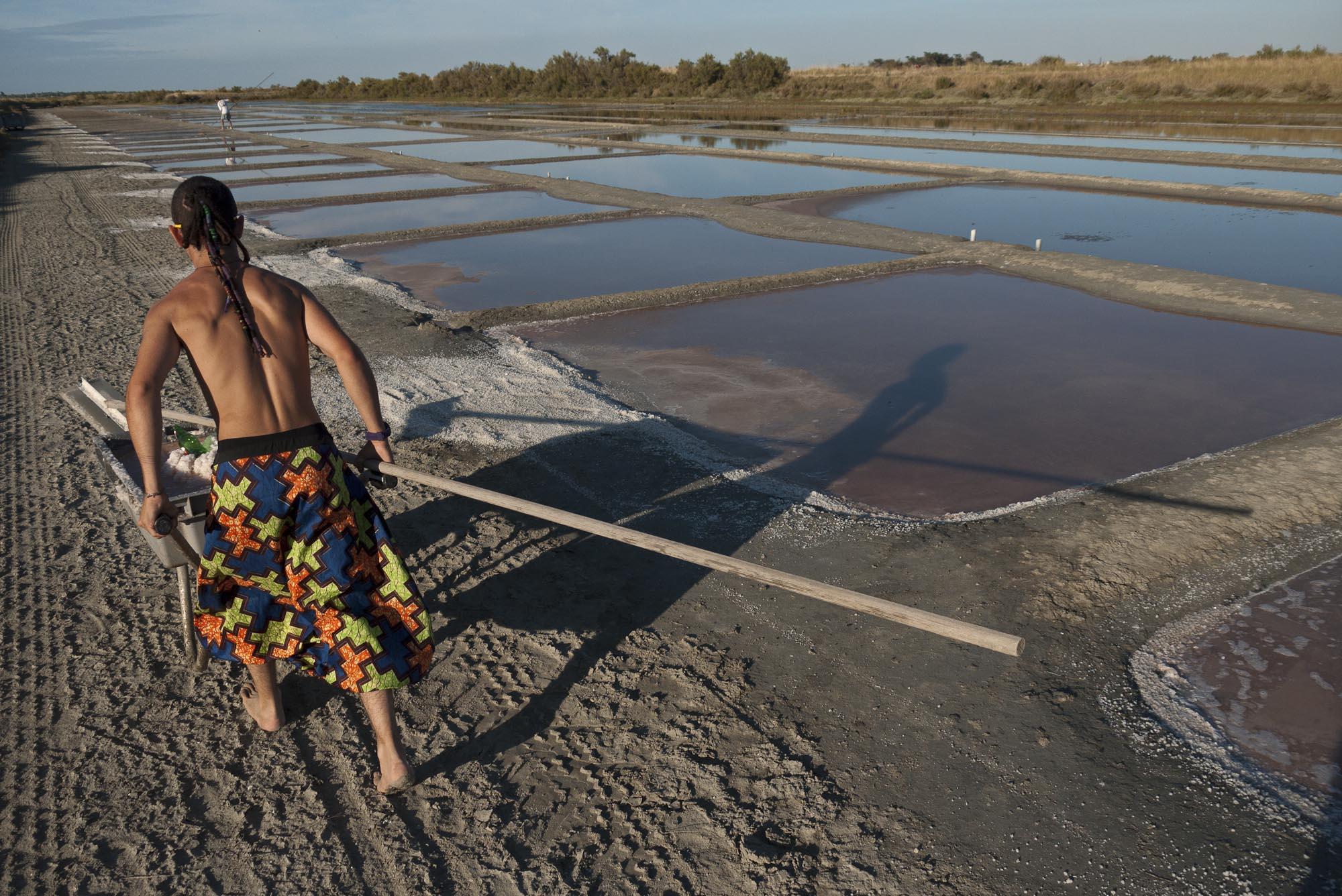 Emmanuel Mercier's salt fields
