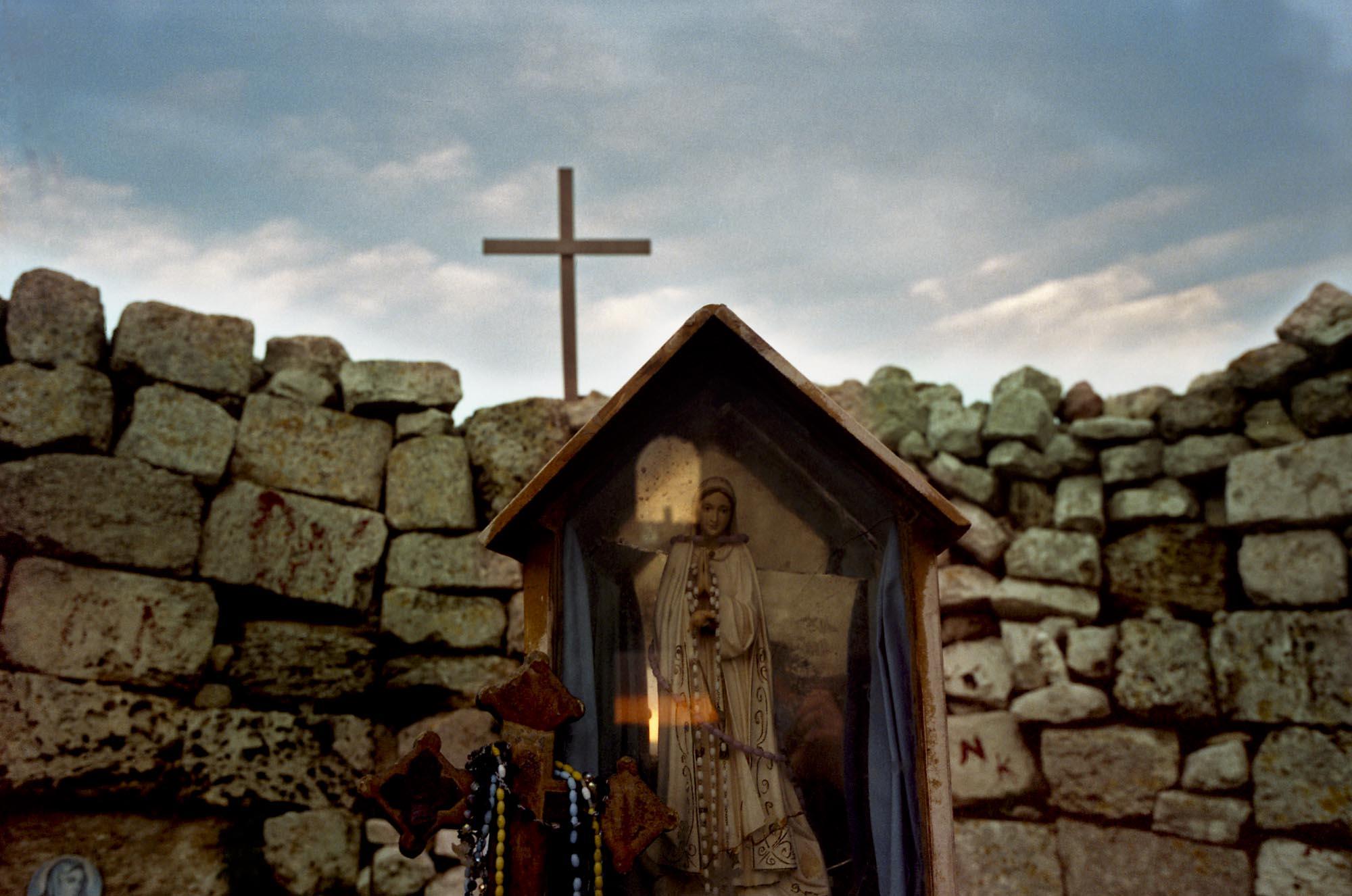Taybeh, Christian Village, West Bank 2003