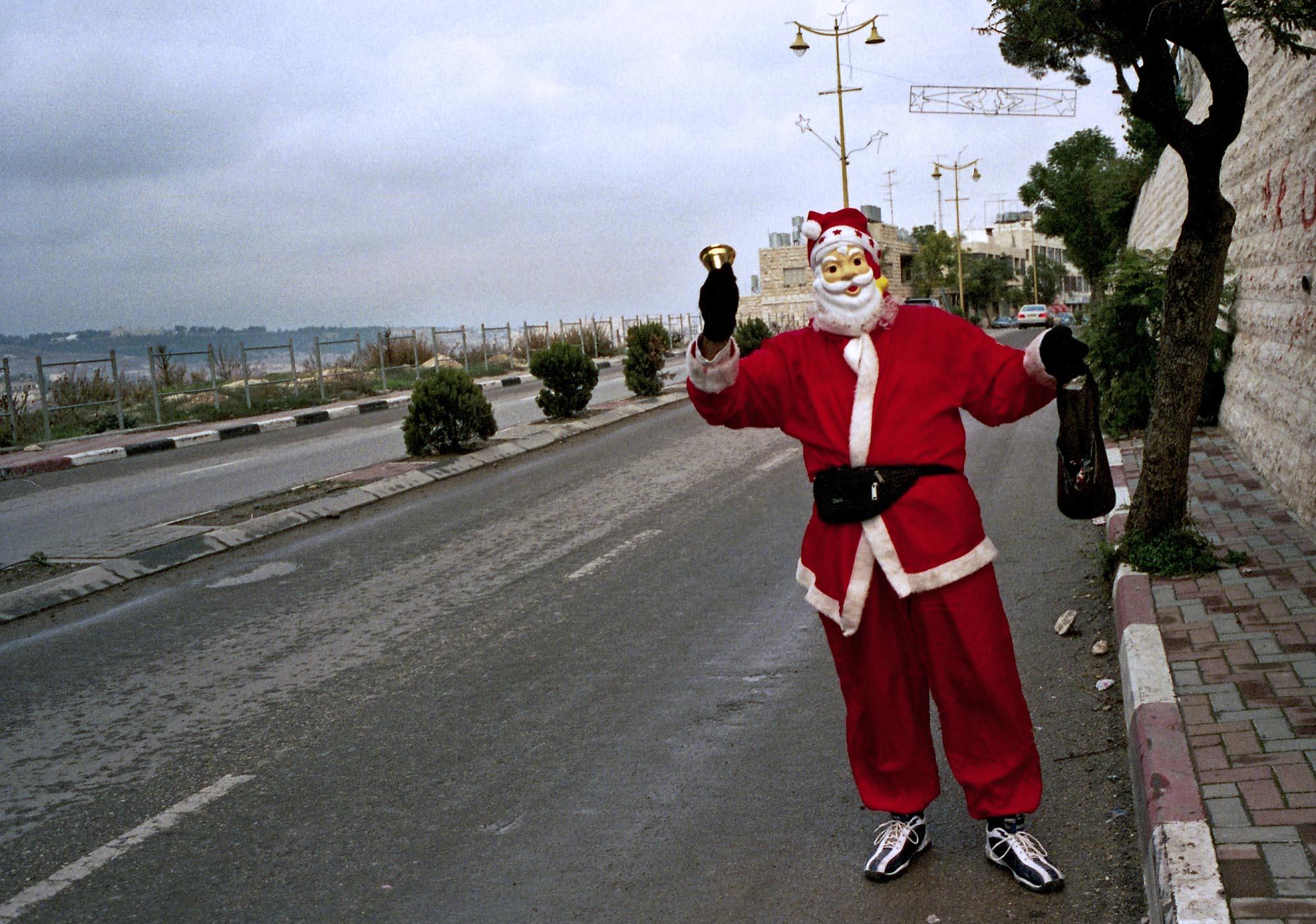 Santa Claus, Ramallah 2003