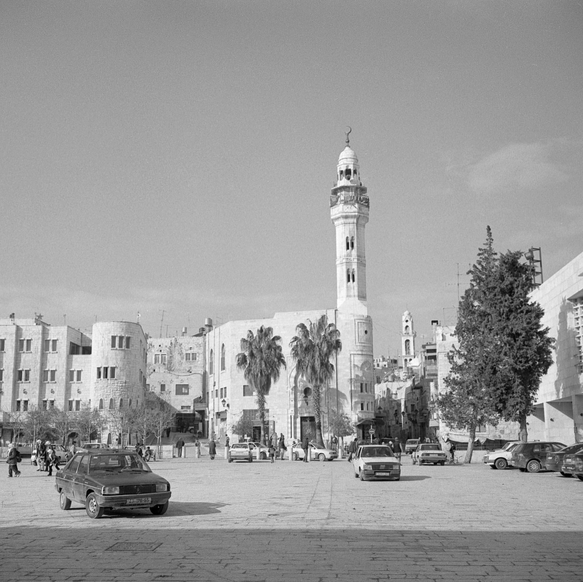 Bethlehem, Manger Square, 2004