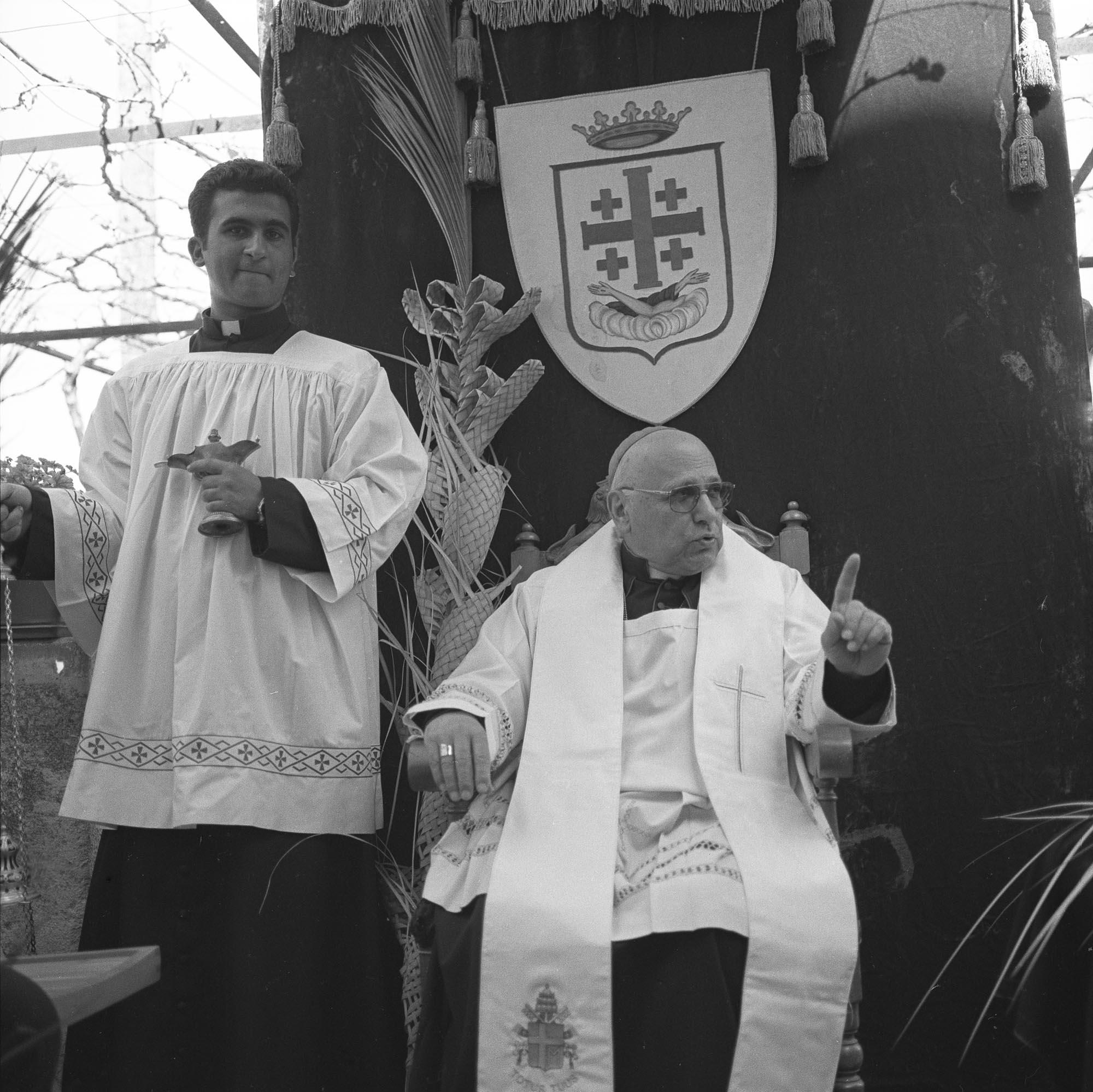 Michel Sabbah, First Palestinian Archbishop and Latin Patriarch of Jerusalem, 2003