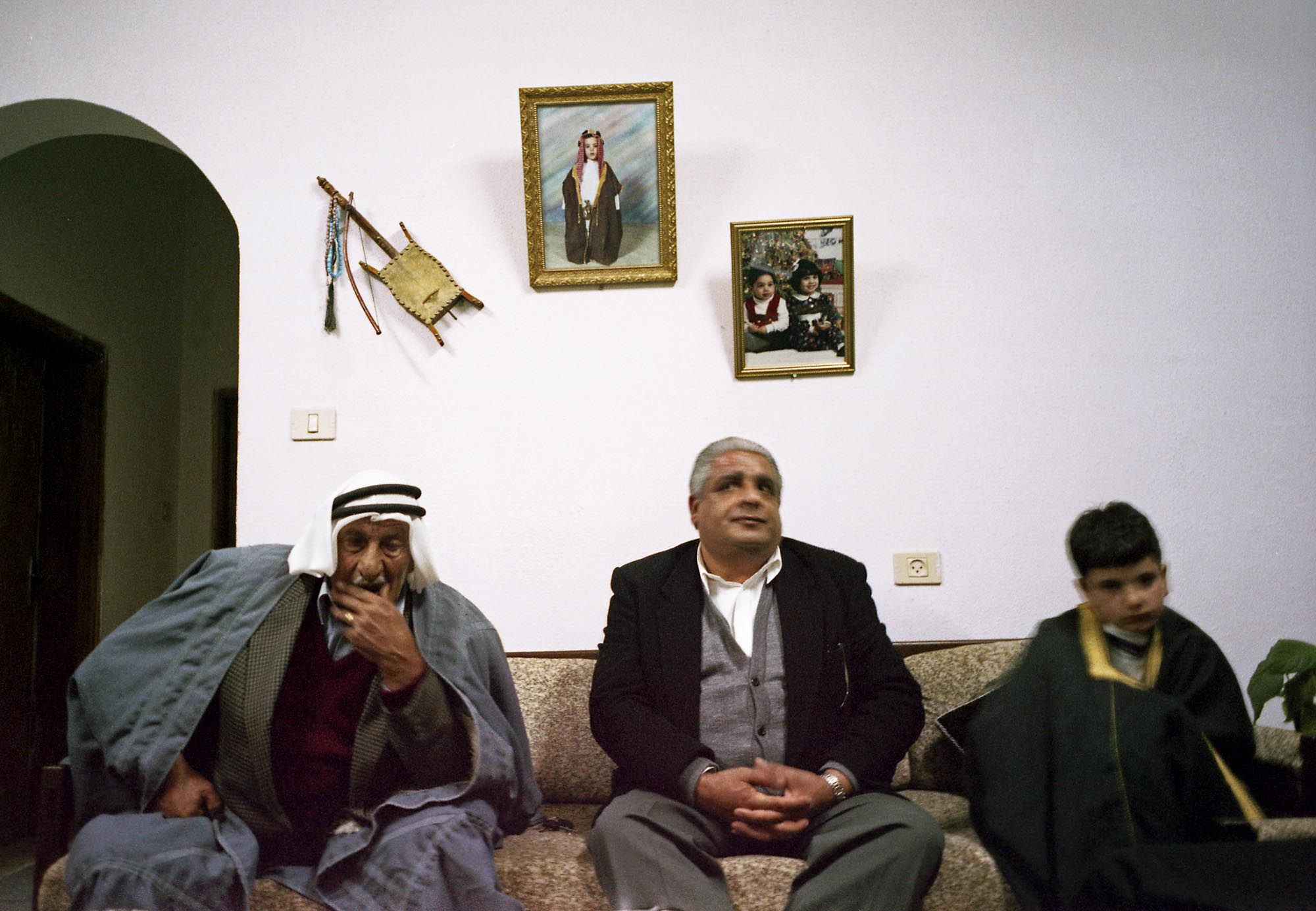 Bedouin Christians in The Jordan Valley, West Bank 2003