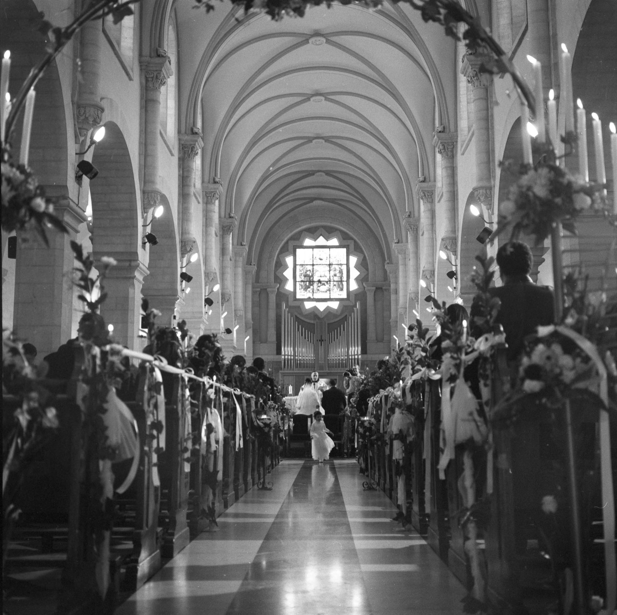 Catholic Wedding, Church Of Nativity, Bethlehem 2003