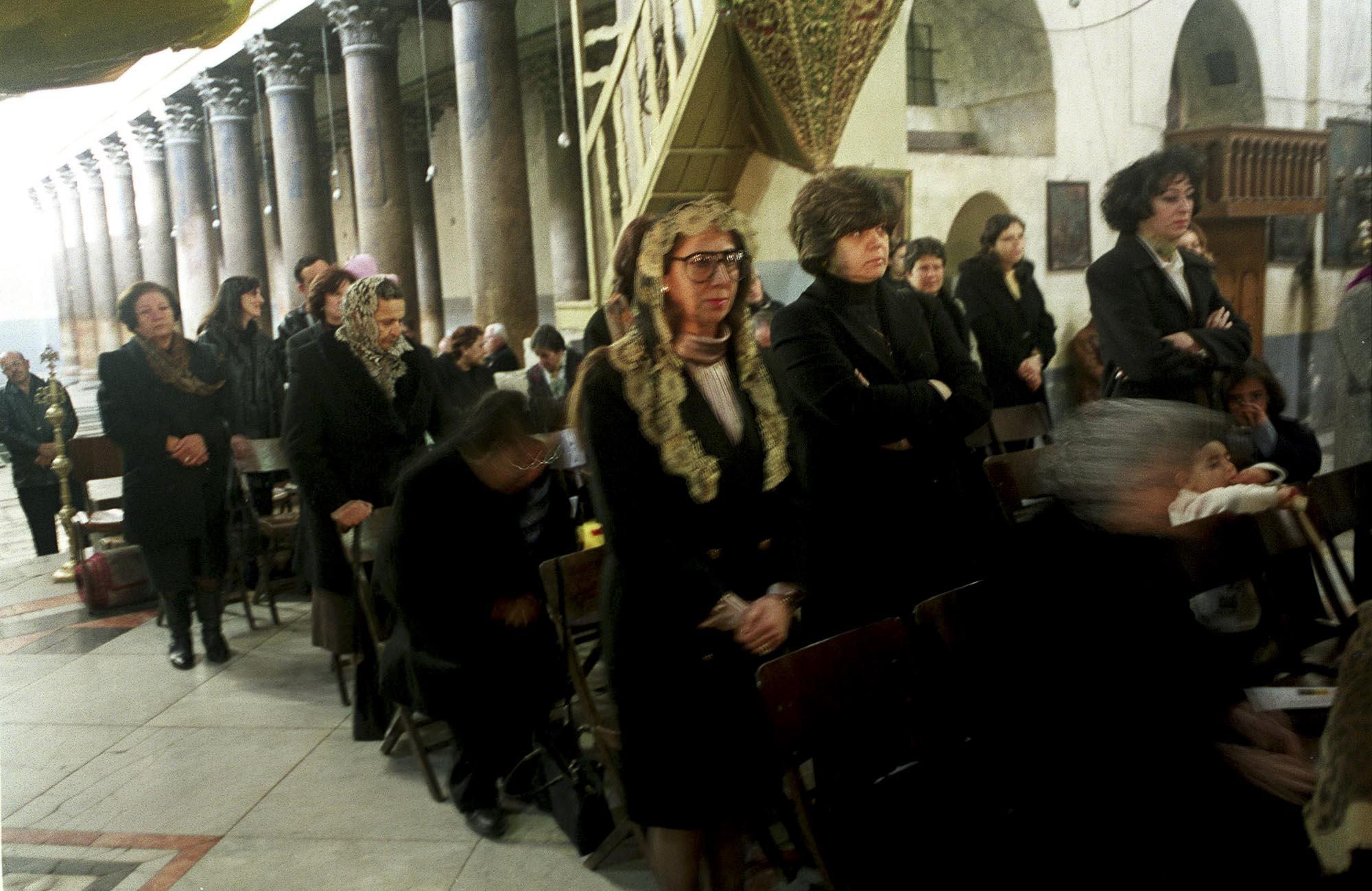 Greek Orthodox Mass in the Church of the Nativity, Bethleem 2002