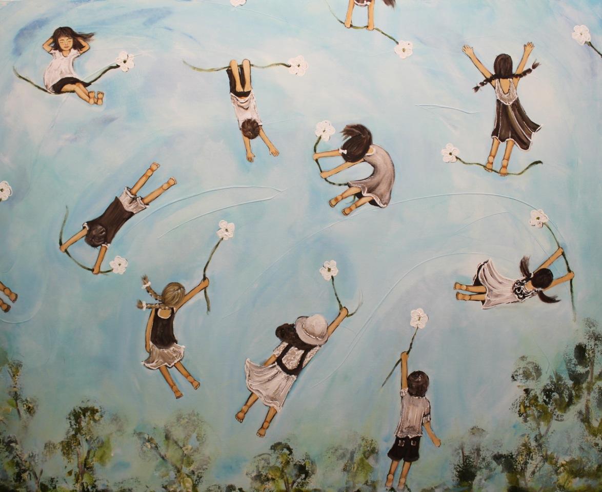 Sky Diving 110cm x 140cm 2 copy.jpeg