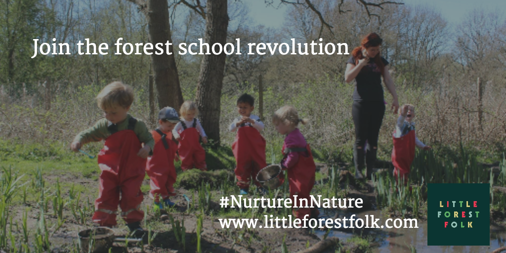 Great childcare in the great outdoors :-)  Book your child's place
