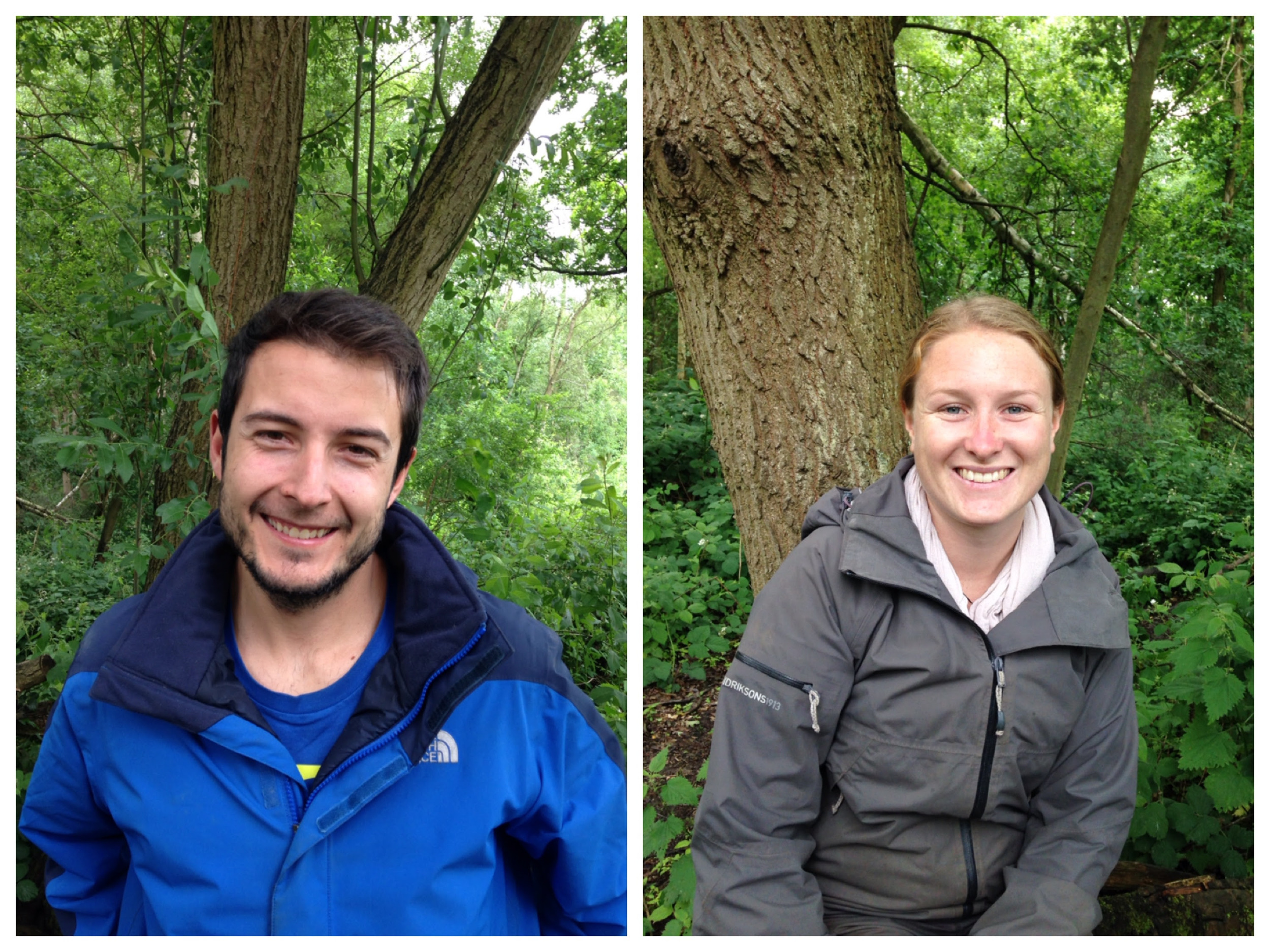 This week we welcomed Alex and Antonio to the forest