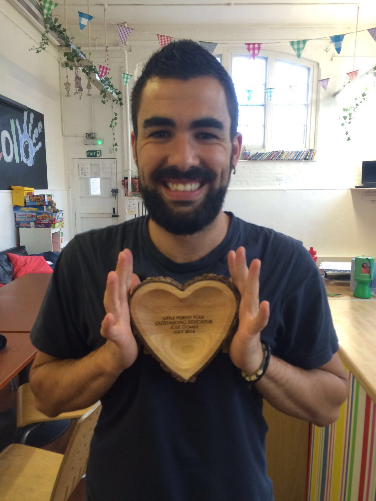 Jose Gomez,LFF Outstanding Educator 2016
