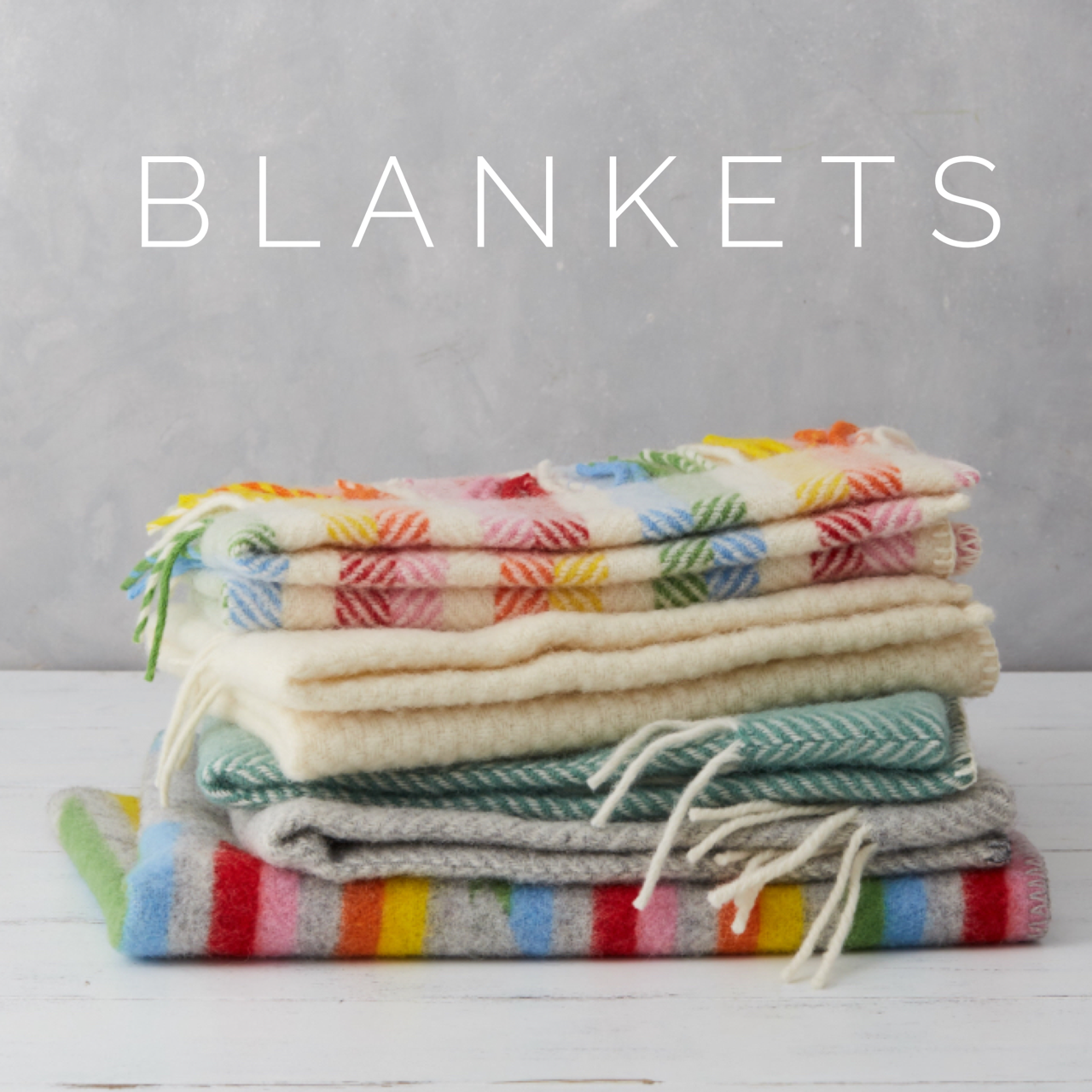 Pure New Wool blankets
