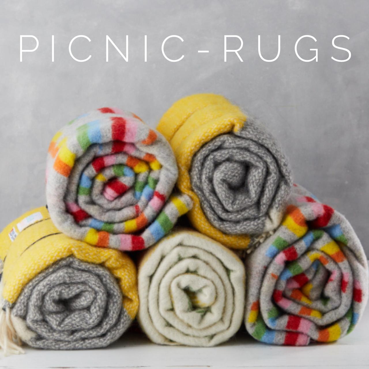 wool picnic blankets