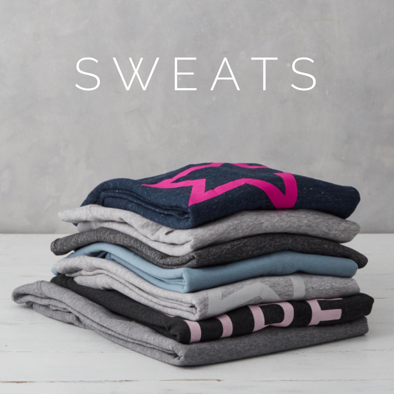 organic cotton slogan sweatshirt