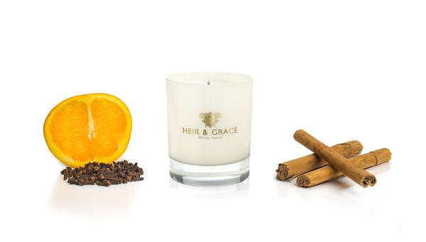 Mulled oranges home candle, £38