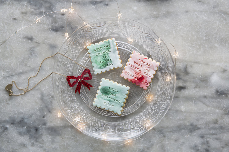 Festive Home Alone biscuit box, £20