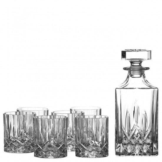 royal doulton decanter set crystal