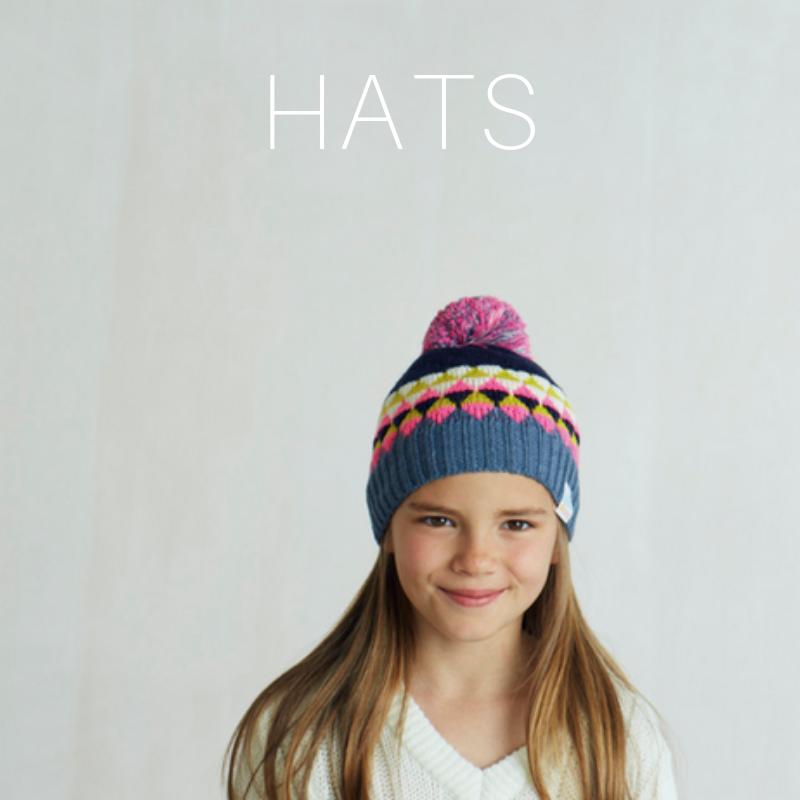 merino wool bobble hats for kids