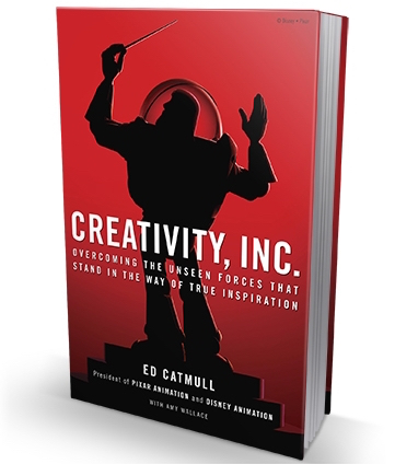 VIVID BOOK CLUB : While we're on the subject of creativity fuelling profit, Creativity, Inc.  isthe best business book ever written according to our Content Director.Read a brilliant extract  here  or take our word for it and buy it here .