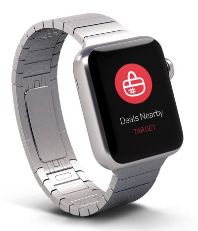 Apple Watch beacon Vivid agency