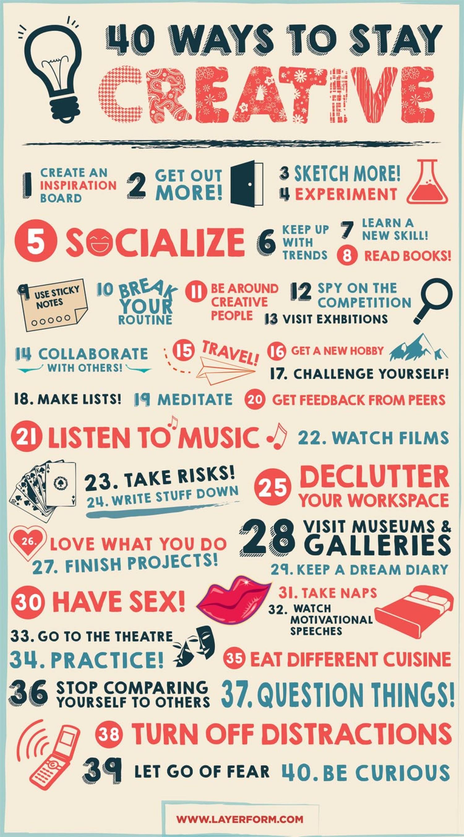 vivid content marketing stay creative