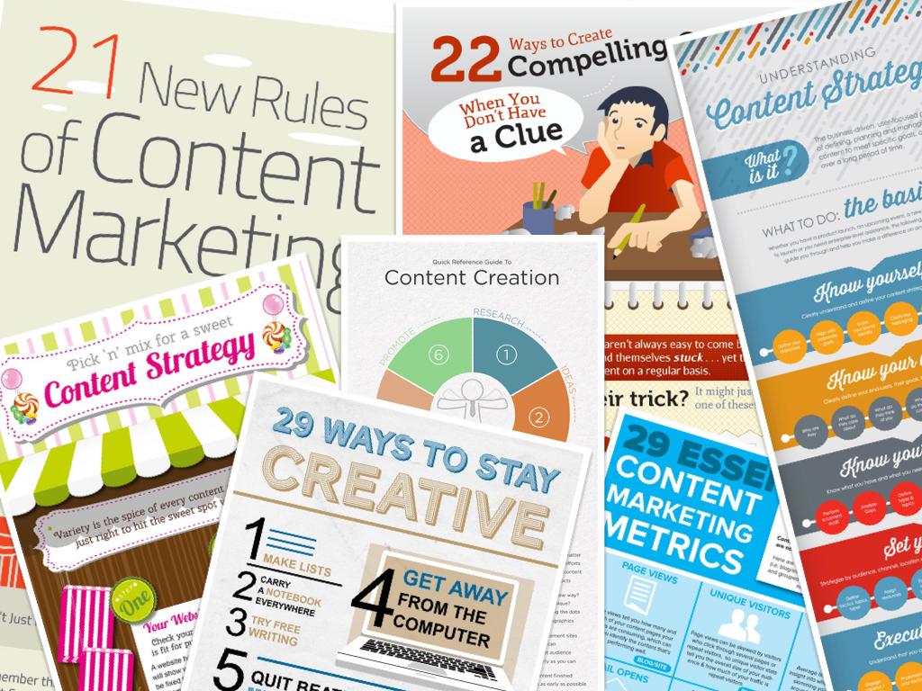 Vivid Content Marketing Infographics