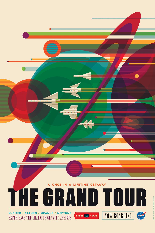 Vivid Content Marketing NASA space tourism poster2