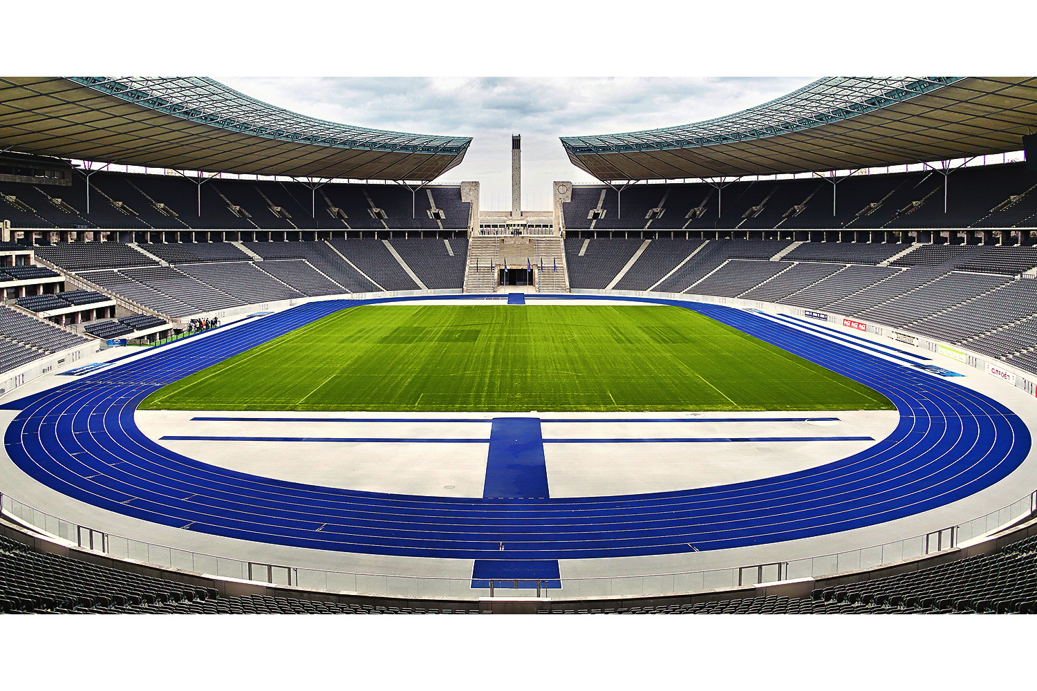 Architectural photography interior: Olympiastadion (Olympic stadium) Berlin, Deutschland. Architects: Werner March/Albert Speer, Friedrich Wilhelm Krahe. Image (C) Matthewlingphotography.co.uk